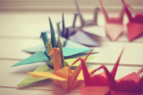 儿时的纸飞机,小船